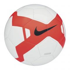 Fotbalový míč Nike BLAZE 4 WHITE/TOTAL CRIMSON/(BLACK)
