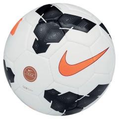 Fotbalový míč Nike CLUB TEAM 4 WHITE/BLACK/(TOTAL ORANGE)