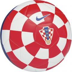 Fotbalový míč Nike CROATIA SUPPORTERS BALL | SC2468-614 | Bílá, Červená | 4