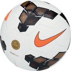 Fotbalový míč Nike PREMIER TEAM FIFA 5 WHITE/GOLD/TOTAL ORANGE