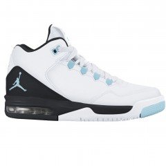 Jordan flight origin 2 gg 40 WHITE/STILL BLUE-BLACK