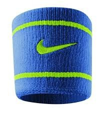 Modrá potítka Nike DRI-FIT WRISTBANDS NS