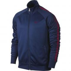 Pánská bunda Nike FCB CORE TRAINER JKT XL LOYAL BLUE/NOBLE RED