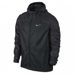 Pánská bunda Nike M NK SHLD FLSH JKT HD RACER | 800895-010 | Černá | 2XL