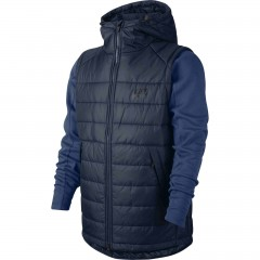 Pánská bunda Nike M NSW AV15 SYN HD JKT L OBSIDIAN/COASTAL BLUE/BLACK