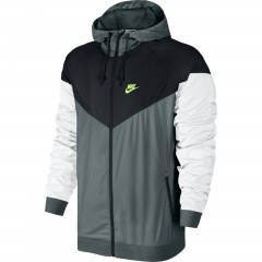 Pánská bunda Nike M NSW WINDRUNNER 2XL HASTA/BLACK/WHITE/GHOST GREEN