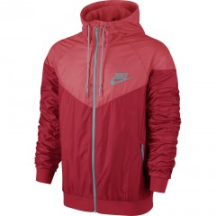 Pánská bunda Nike WINDRUNNER M UNIVERSITY RED/RIO/DOVE GREY