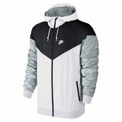 Pánská bunda Nike WINDRUNNER L WHITE/BLACK/WOLF GREY/WHITE