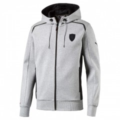 Pánská bunda Puma Ferrari Ferrari Hooded Sweat Jacket li | 570675-04 | Šedá | M