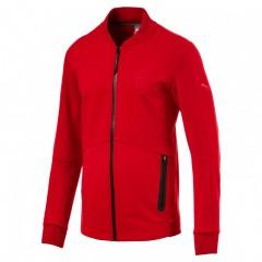 Pánská bunda Puma Ferrari Ferrari Sweat Jacket Rosso Cor | 573460-02 | Červená | L