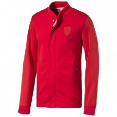Pánská bunda Puma Ferrari Ferrari Sweat Jacket rosso cor S