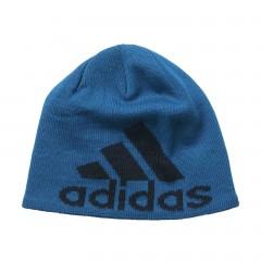 Pánská čepice adidas Performance KNIT LOGO BEAN | S94130 | Modrá | M