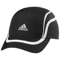 Pánská čepice adidas RUN CC CAP OSFM BLACK/WHT/REFSIL