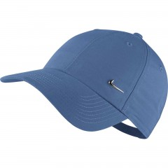 Pánská čepice Nike U NSW CAP MISC STAR BLUE/METALLIC SILVER