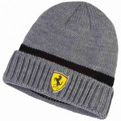 Pánská čepice Puma SF Beanie medium gray heather