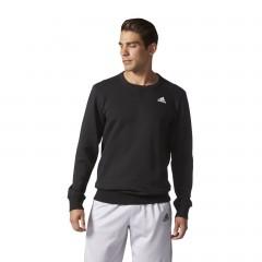 Pánská mikina adidas Performance ESS CREW B S BLACK/WHITE