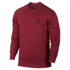 Pánské tričko Nike FLIGHT FLEECE CREW S GYM RED/BLACK