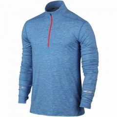 Pánská mikina Nike DRI-FIT ELEMENT HZ | 683485-437 | Modrá | L