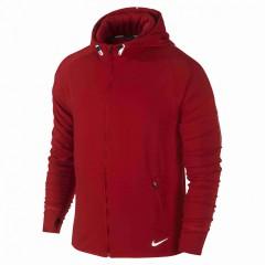 Pánská mikina Nike DRI-FIT SPRINT FZ HOODY | 596241-687 | Červená | XL
