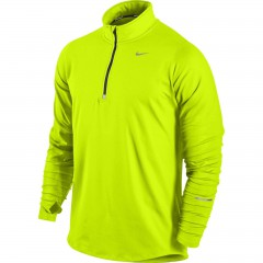 Pánská mikina Nike ELEMENT 1/2 ZIP | 504606-703 | Žlutá | XXL