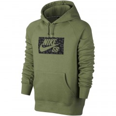 Pánská mikina Nike M NK SB ICON HOODIE JAGMO | 837932-387 | Zelená | 2XL