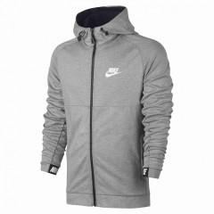 Pánská mikina Nike M NSW AV15 HOODIE FZ FLC | 861742-063 | Šedá | XL