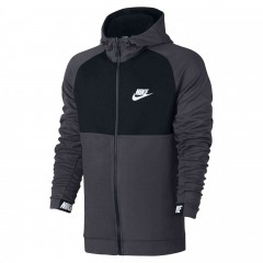 Pánská mikina Nike M NSW AV15 HOODIE FZ FLC | 861742-071 | Černá | XL