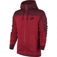 Pánská mikina Nike M NSW AV15 HOODIE FZ SSNL | 807415-657 | Červená | XL