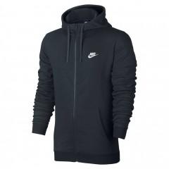 Pánská mikina Nike M NSW HOODIE FZ FT CLUB   804391-010   Černá   M