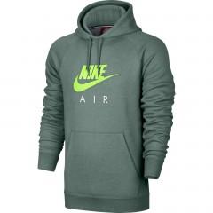 Pánská mikina Nike M NSW HOODIE PO FLC AIR HRTG | 810806-386 | Zelená | L