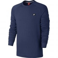 Pánská mikina Nike M NSW MODERN CRW FT | 805126-423 | Modrá | S