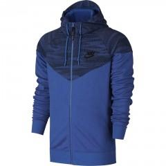 Pánská mikina Nike M NSW WR MX AIR HYB | 805138-480 | Modrá | XL