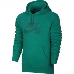 Pánská mikina Nike SB ICON DOTS PO HOODIE | 833903-351 | Zelená | 2XL