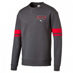 Athletic Crew Dark Gray Heathe