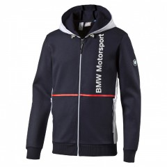 Pánská mikina Puma BMW MSP Hooded Sweat Jacket bm