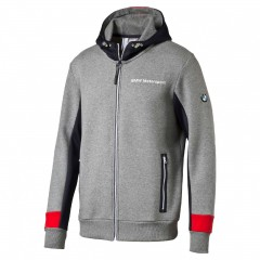 Pánská mikina Puma BMW MSP Hooded Sweat Jacket Me