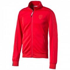 Pánská mikina Puma Ferrari Ferrari Track Jacket rosso cor