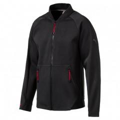 Pánská mikina Puma Ferrari Sweat Jacket Moonless | 572797-01 | Černá | L