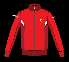 Pánská mikina Puma SF Track Jacket rosso M