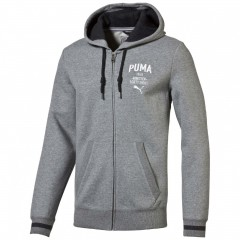 Pánská mikina Puma STYLE ATHL Hd. Sweat Jkt FL me   834123-03   M
