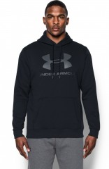 Pánská mikina Under Armour Rival Fitted Graphic Hoodie