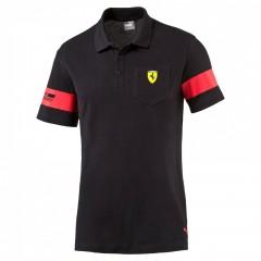 Pánská polokošile Puma Ferrari SF Polo 1 black černá