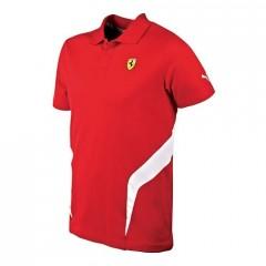 Pánská polokošile Puma Ferrari SF Polo rosso corsa červená | 761559-02 | M
