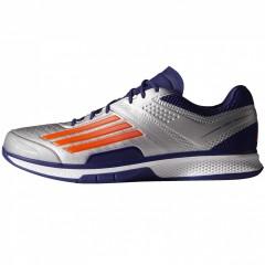 Pánská sálová obuv adidas adizero counterblast 7 | B40528 | Šedá, Fialová | 42,5