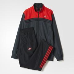 Pánská souprava adidas TS A WV | AB7444 | Černá, Červená | 6