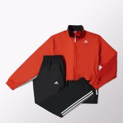 Pánská souprava adidas TS A WV | M67984 | Černá, Červená | 7