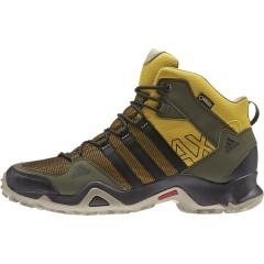 Pánská treková obuv adidas AX2 MID GTX 43 RAWOCH/CBLACK/NGTCAR