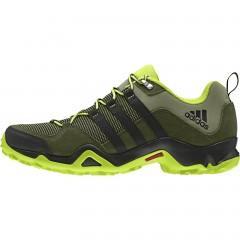 Pánská treková obuv adidas BRUSHWOOD MESH | AF6074 | Zelená | 41