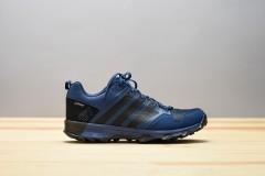 Pánská treková obuv adidas Performance KANADIA 7 TR GTX | BB5429 | Černá, Modrá | 40,5