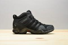 Pánská treková obuv adidas Performance TERREX AX2R MID GTX | BB4602 | Černá | 40,5